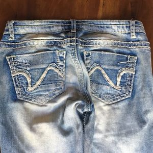 Vanilla Star Jeans - Vanilla Star Destroyed Bootcut Denim Jeans